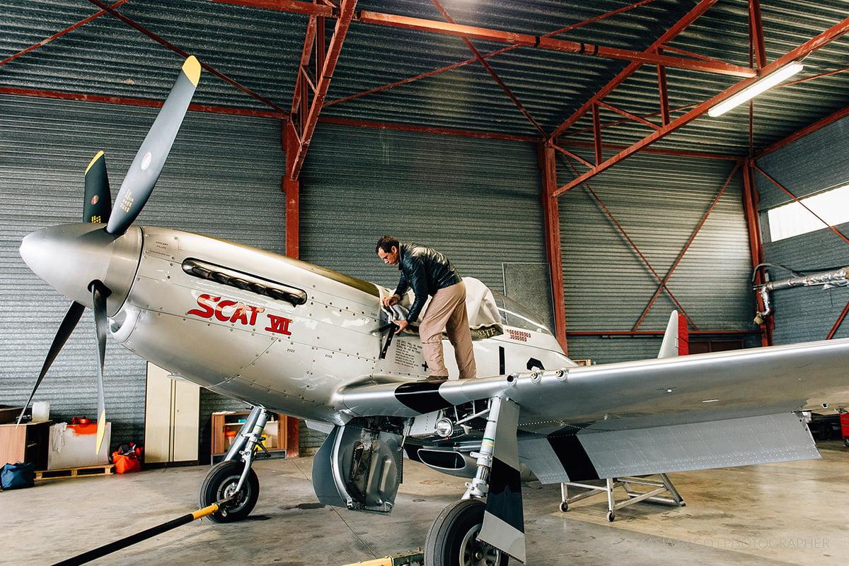 Mustang Antwerp Airport Birthday Flight Kasia Bacq-08