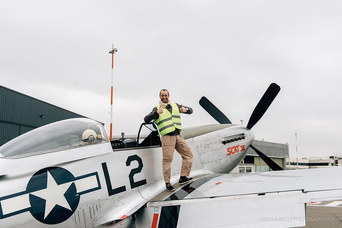 Mustang Antwerp Airport Birthday Flight Kasia Bacq-10