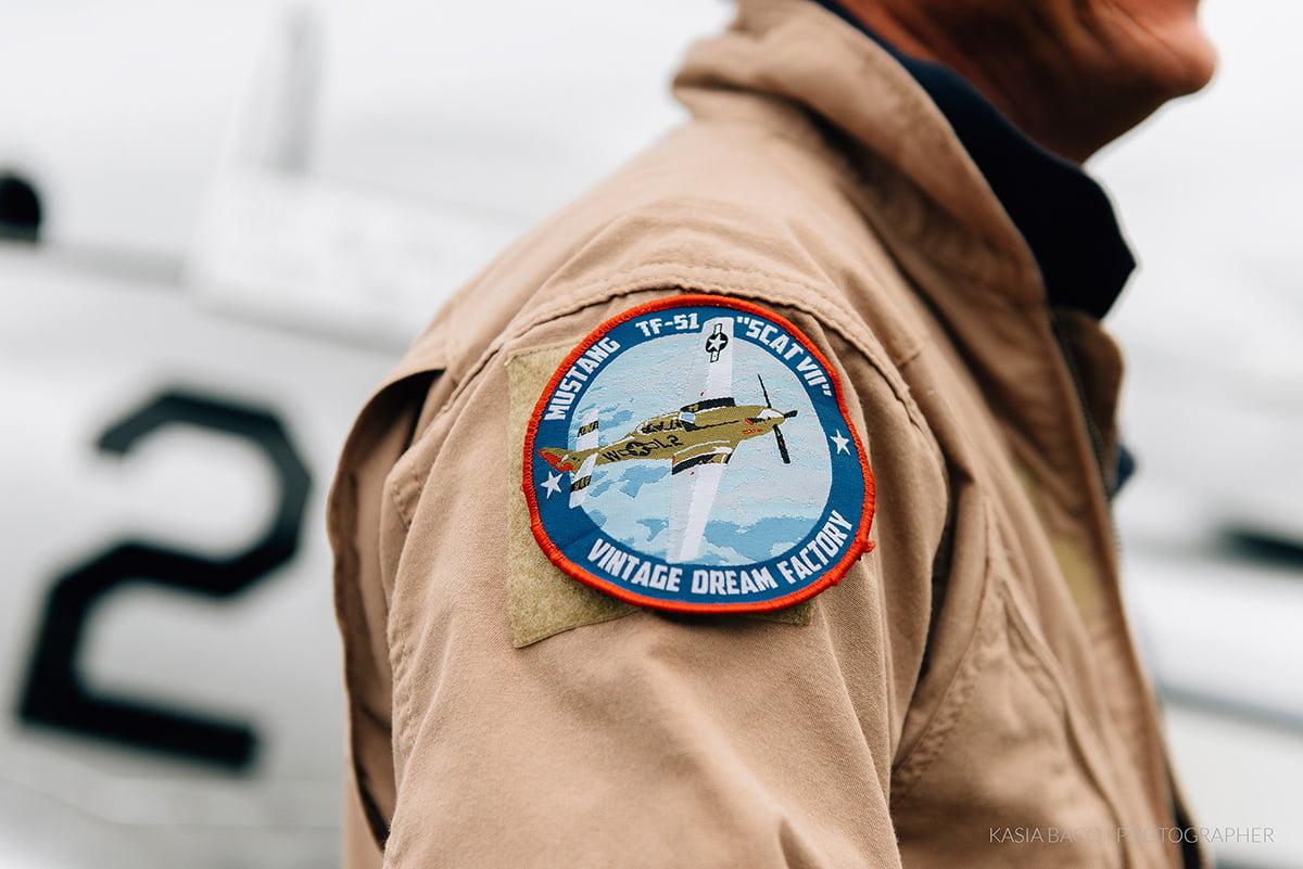 Mustang Antwerp Airport Birthday Flight Kasia Bacq-12