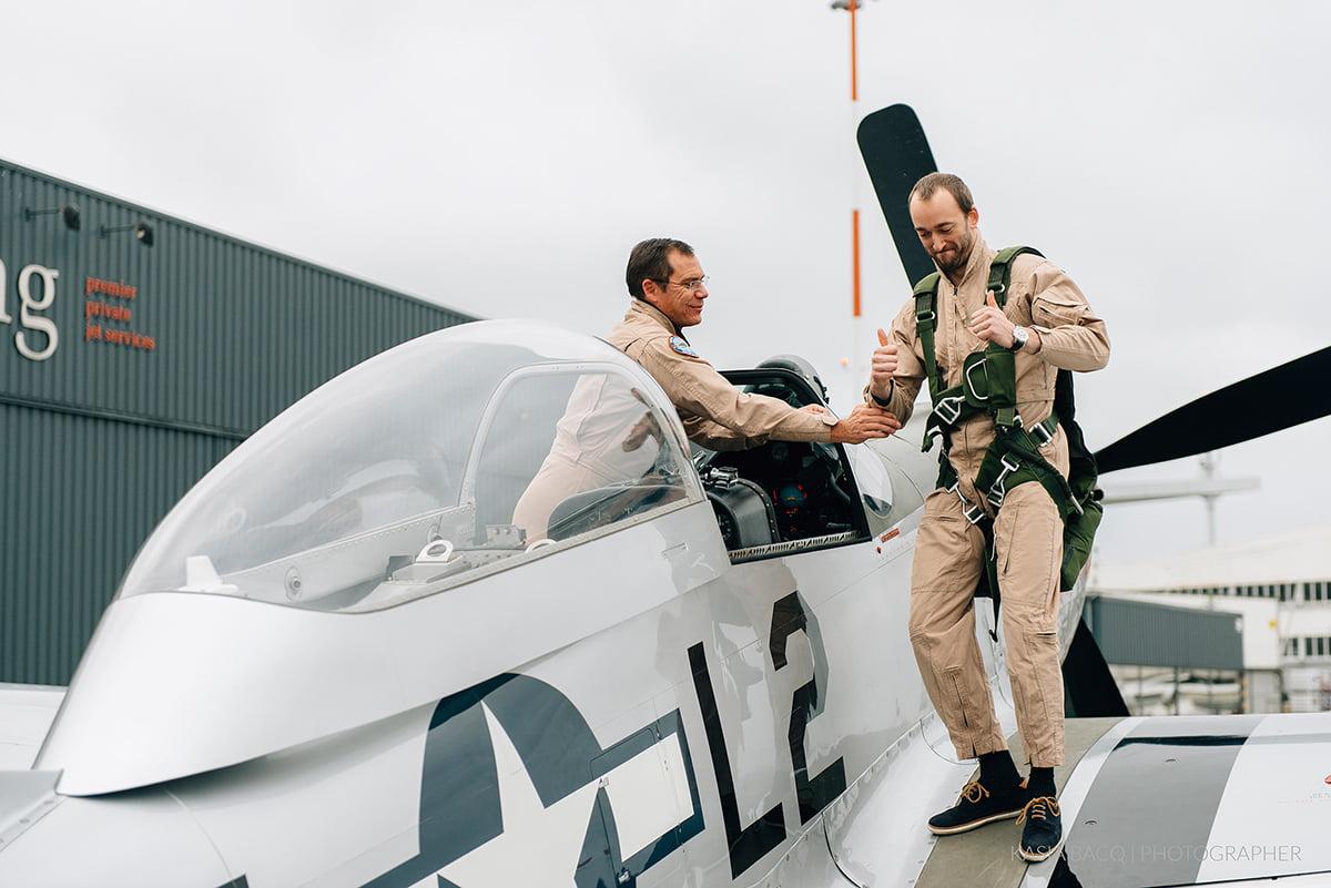 Mustang Antwerp Airport Birthday Flight Kasia Bacq-15