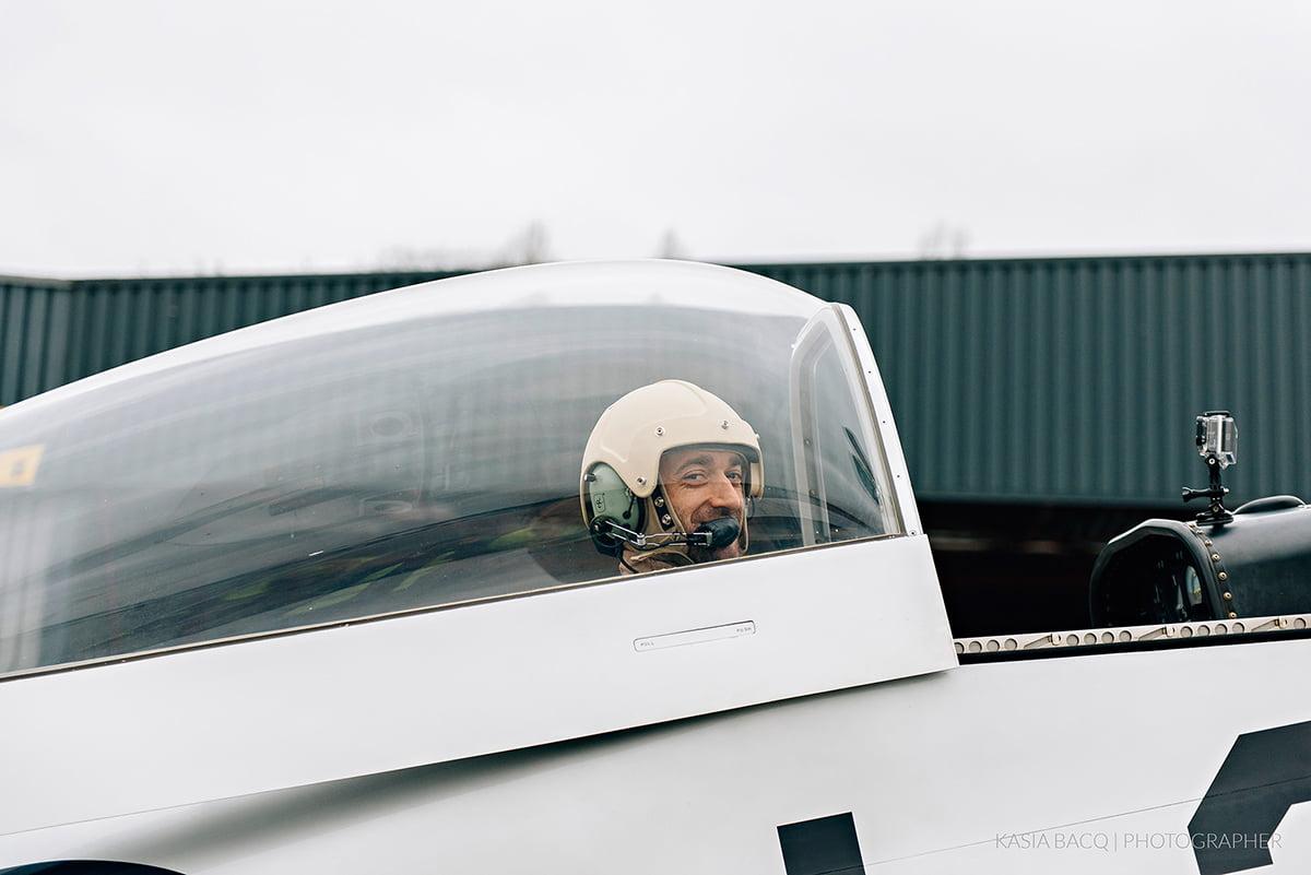 Mustang Antwerp Airport Birthday Flight Kasia Bacq-16