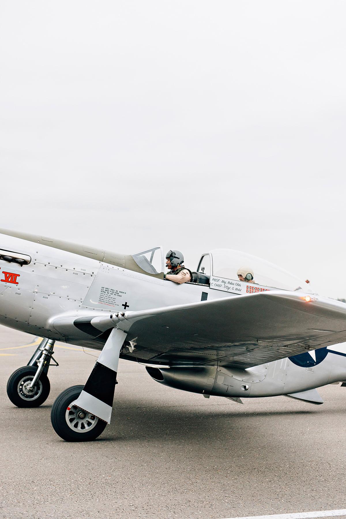 Mustang Antwerp Airport Birthday Flight Kasia Bacq-18