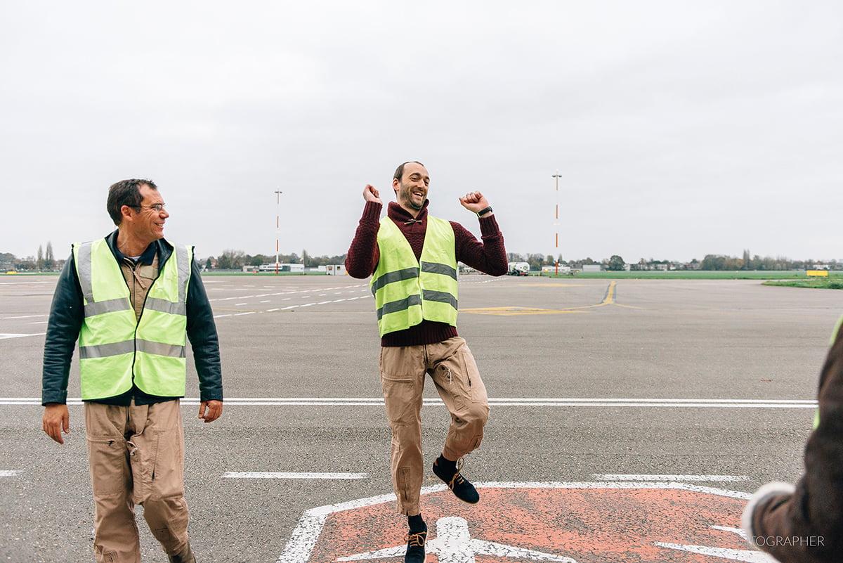 Mustang Antwerp Airport Birthday Flight Kasia Bacq-19