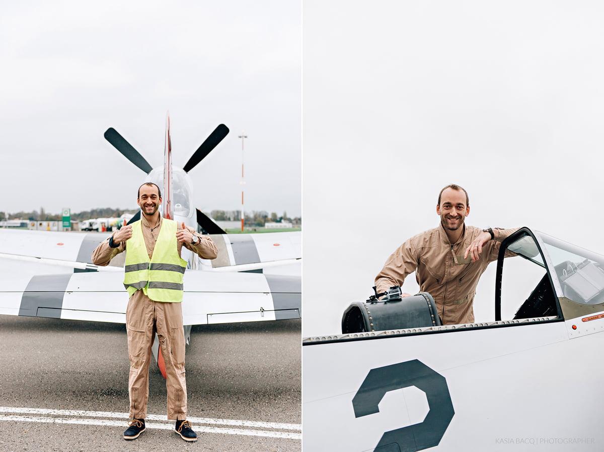 Mustang Antwerp Airport Birthday Flight Kasia Bacq-22