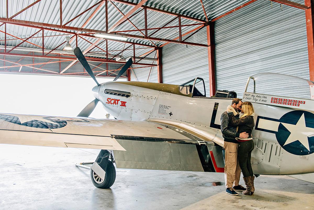 Mustang Antwerp Airport Birthday Flight Kasia Bacq-24