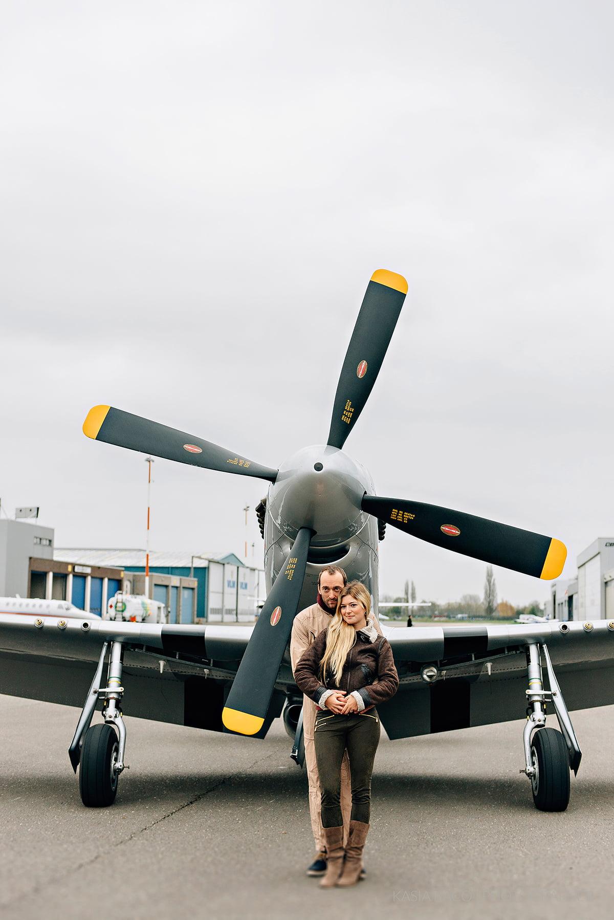Mustang Antwerp Airport Birthday Flight Kasia Bacq-26