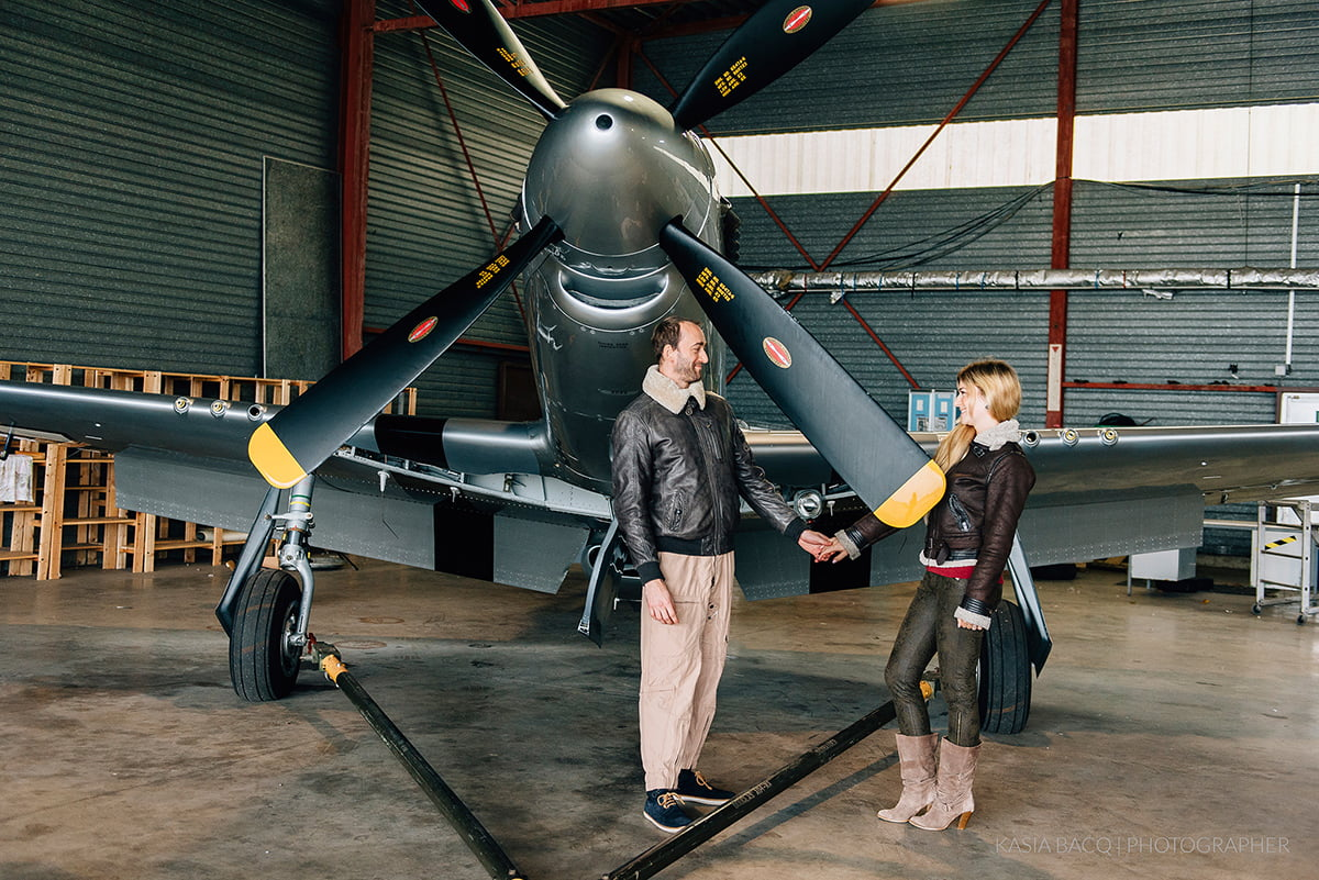 Mustang Antwerp Airport Birthday Flight Kasia Bacq-27