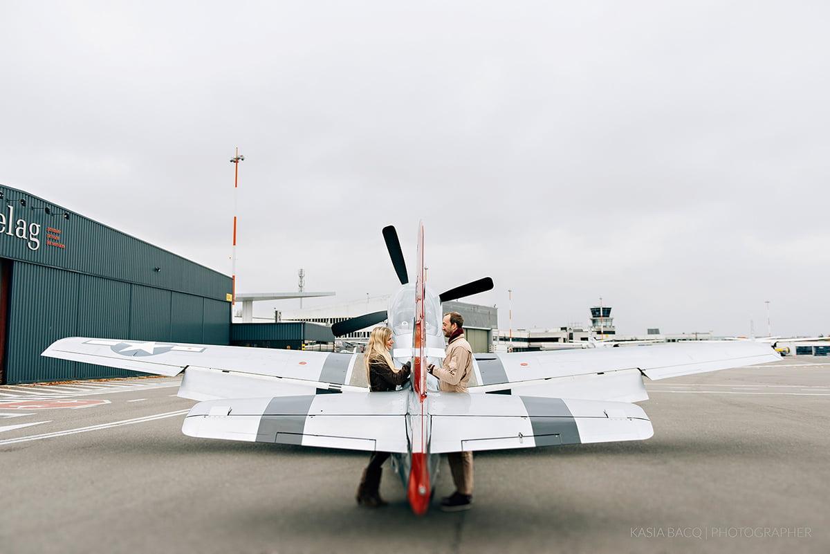 Mustang Antwerp Airport Birthday Flight Kasia Bacq-29