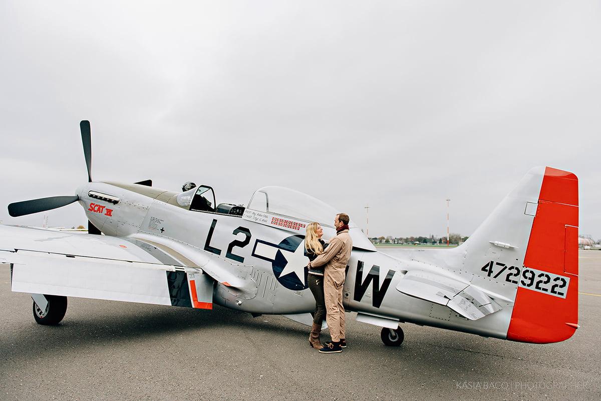 Mustang Antwerp Airport Birthday Flight Kasia Bacq-30