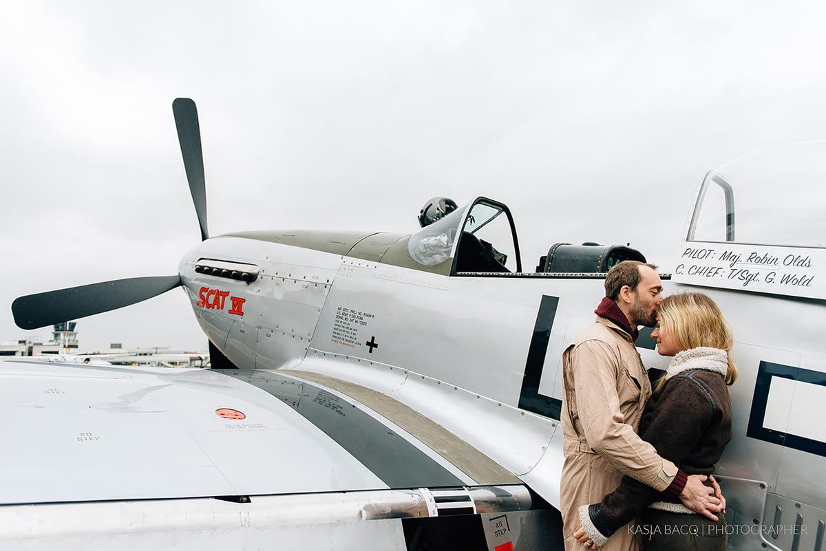 Mustang Antwerp Airport Birthday Flight Kasia Bacq-32