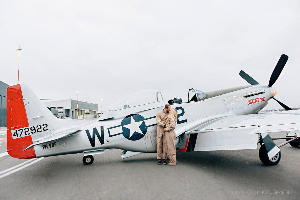 Mustang Antwerp Airport Birthday Flight Kasia Bacq-36