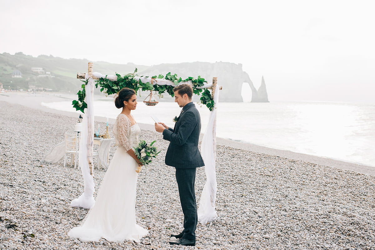 Nautical Inspiration Wedding Normany Kasia Bacq-13