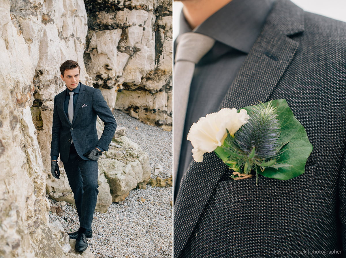 Nautical Inspiration Wedding Normany Kasia Bacq-20