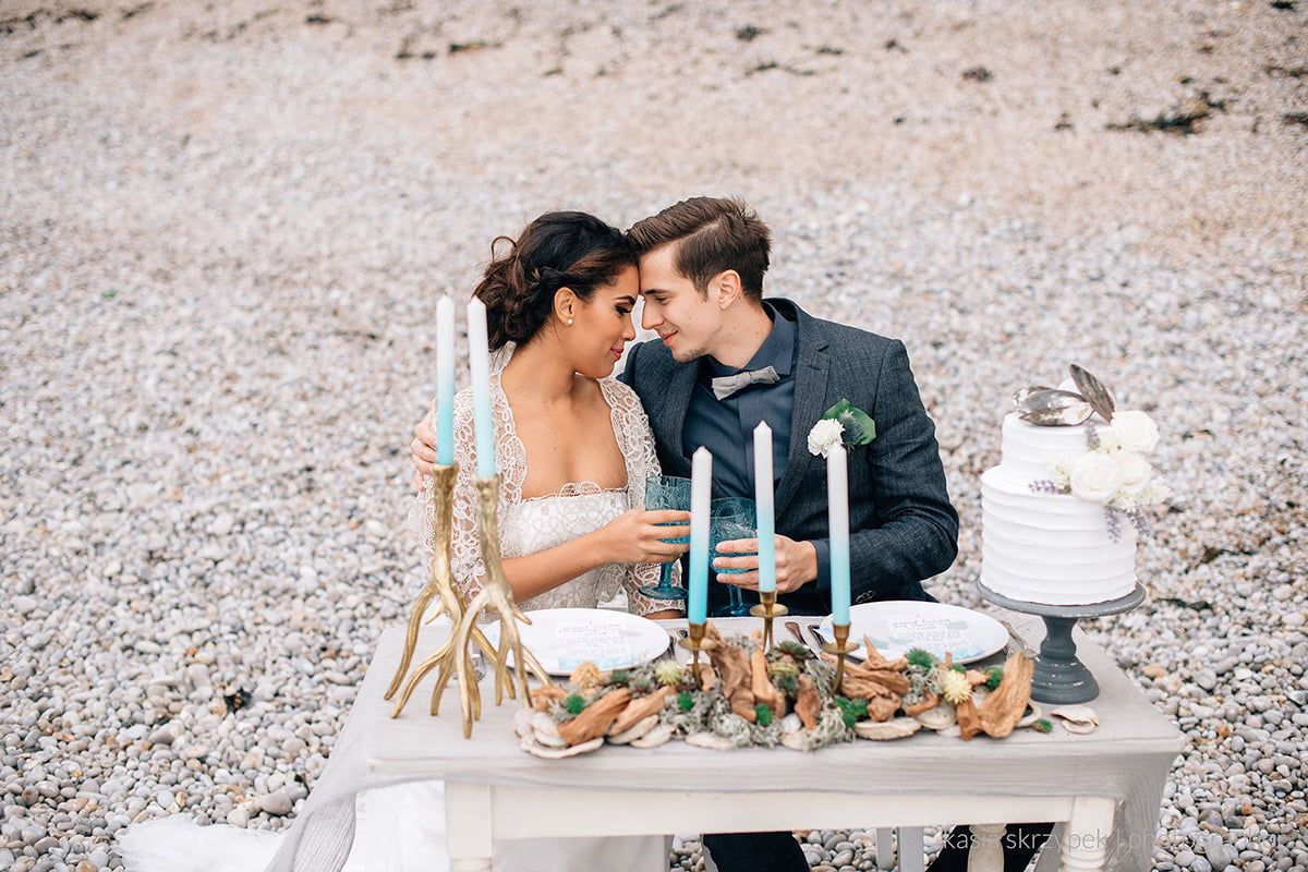 Nautical Inspiration Wedding Normany Kasia Bacq-36
