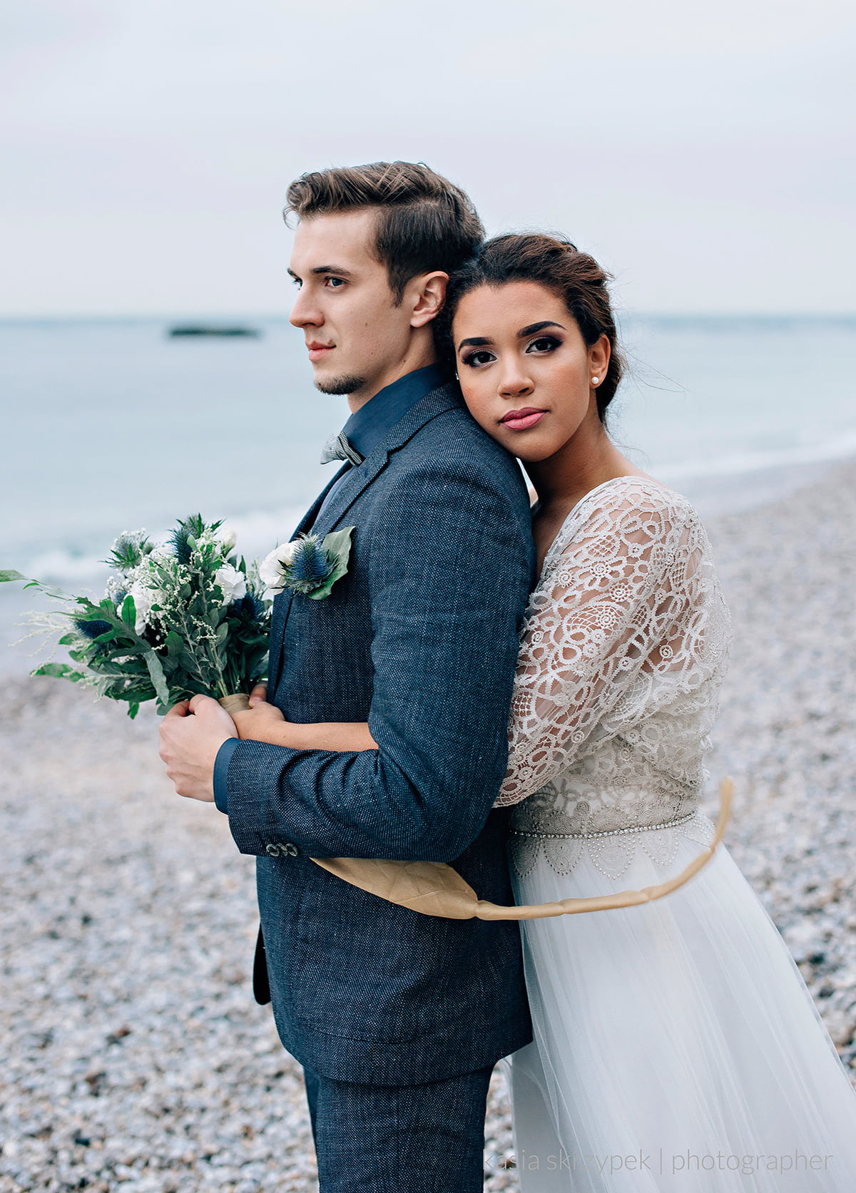 Nautical Inspiration Wedding Normany Kasia Bacq-44