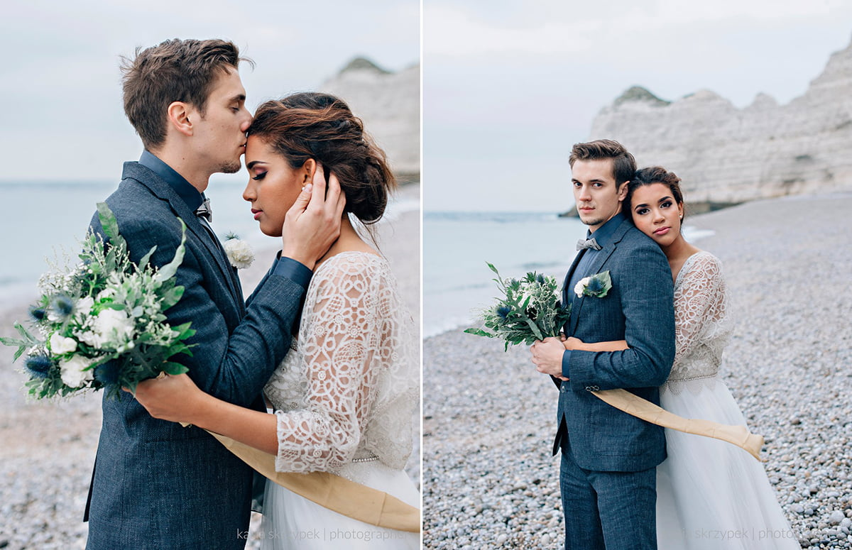 Nautical Inspiration Wedding Normany Kasia Bacq-46