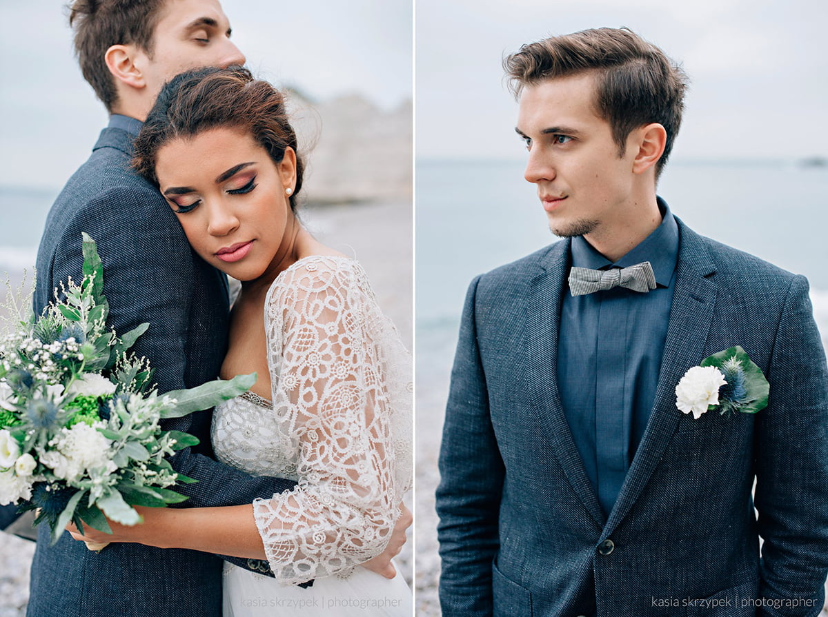 Nautical Inspiration Wedding Normany Kasia Bacq-48
