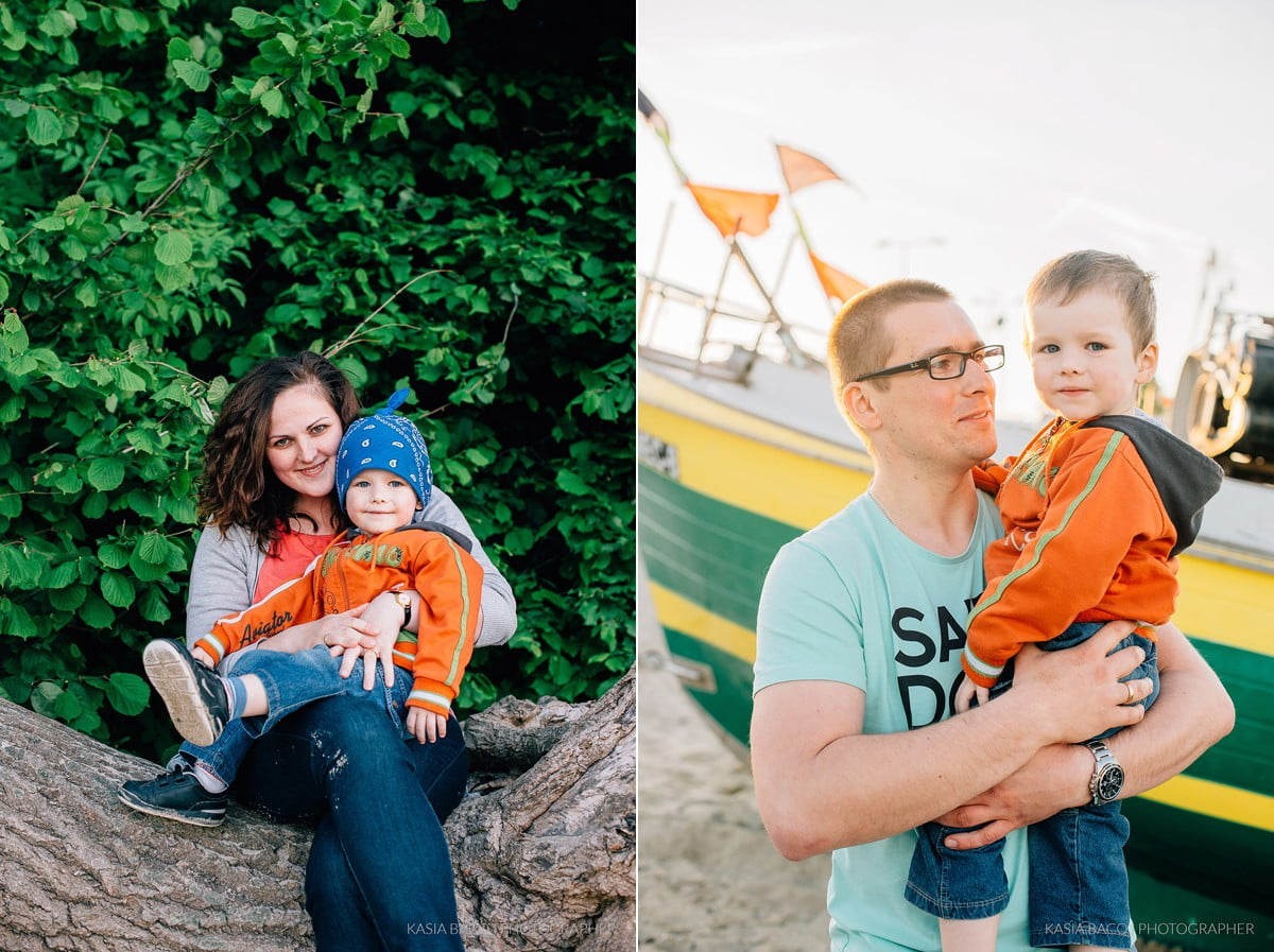 Family Shoot Beach Gdynia Kasia Bacq-09