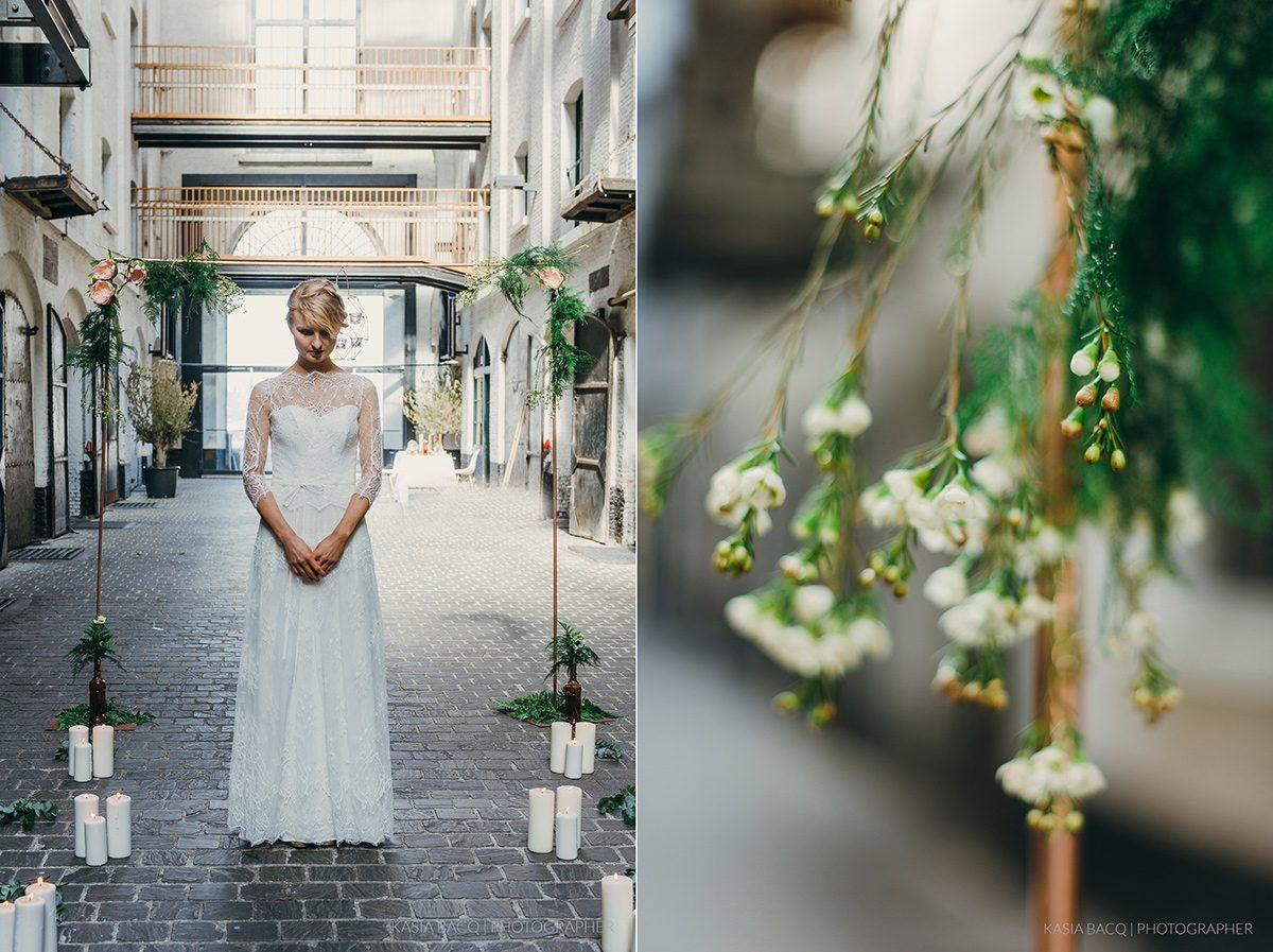 Copper Botanical Urban Wedding Kasia Bacq-05