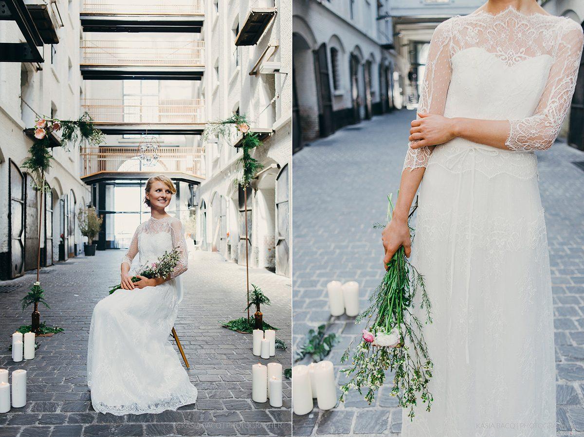 Copper Botanical Urban Wedding Kasia Bacq-09
