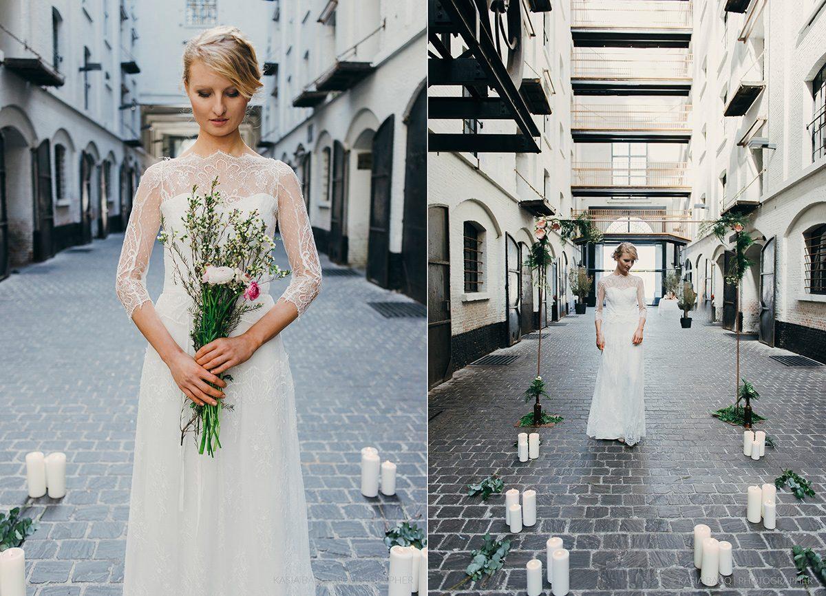 Copper Botanical Urban Wedding Kasia Bacq-15