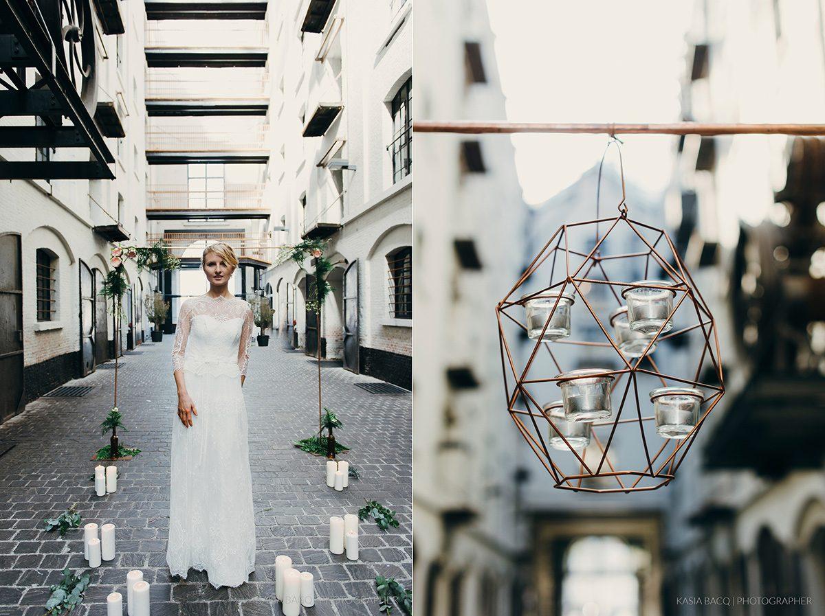 Copper Botanical Urban Wedding Kasia Bacq-25