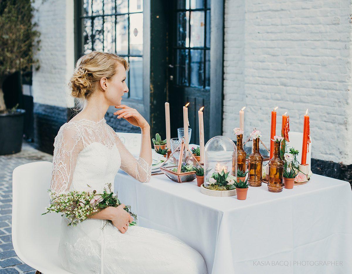 Copper Botanical Urban Wedding Kasia Bacq-29