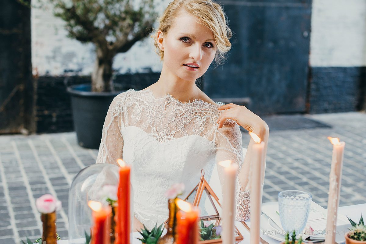Copper Botanical Urban Wedding Kasia Bacq-34