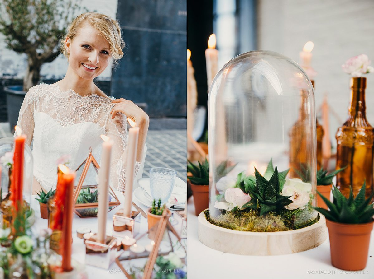 Copper Botanical Urban Wedding Kasia Bacq-44