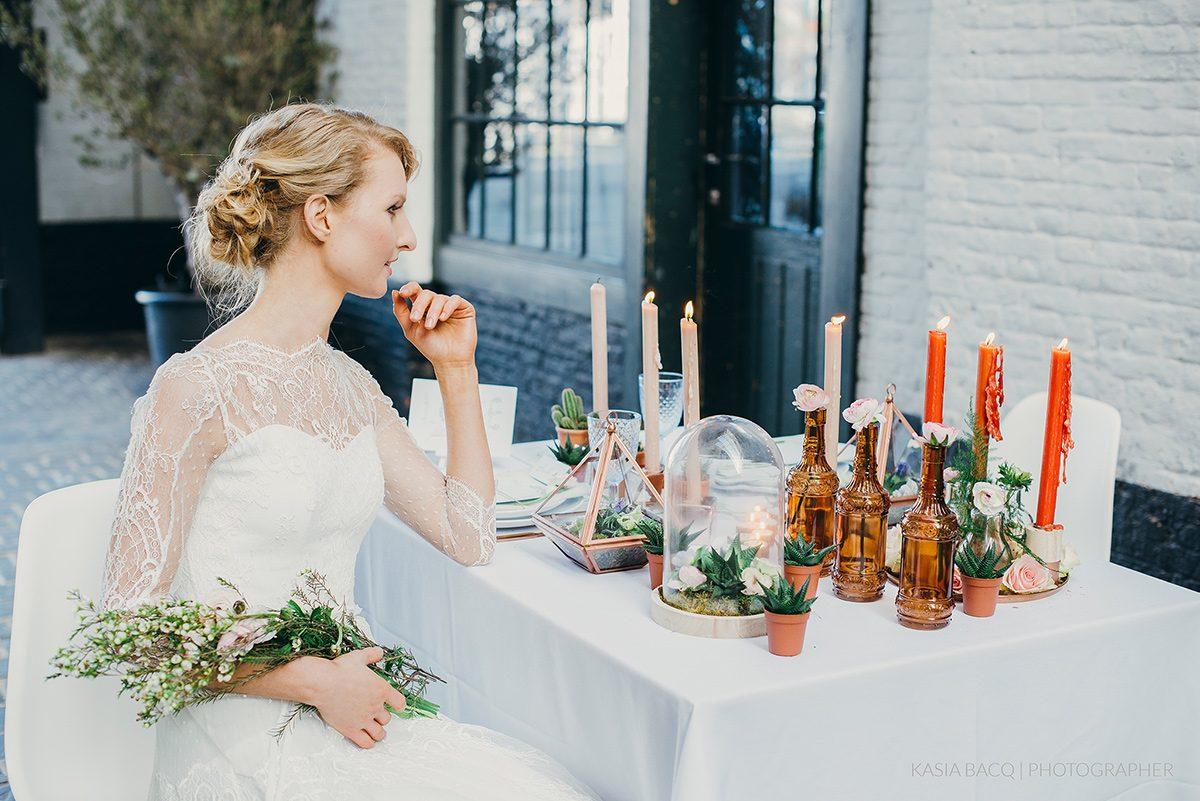 Copper Botanical Urban Wedding Kasia Bacq-47