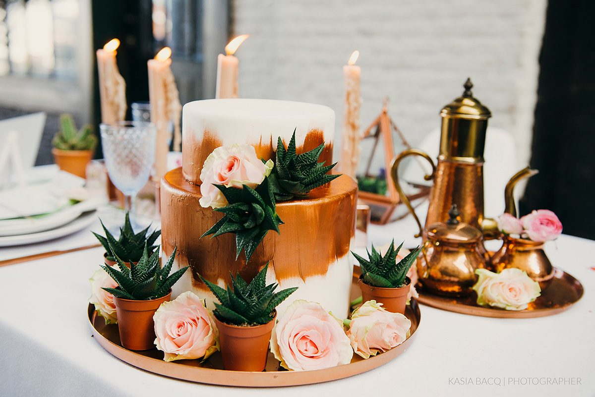Copper Botanical Urban Wedding Kasia Bacq-50