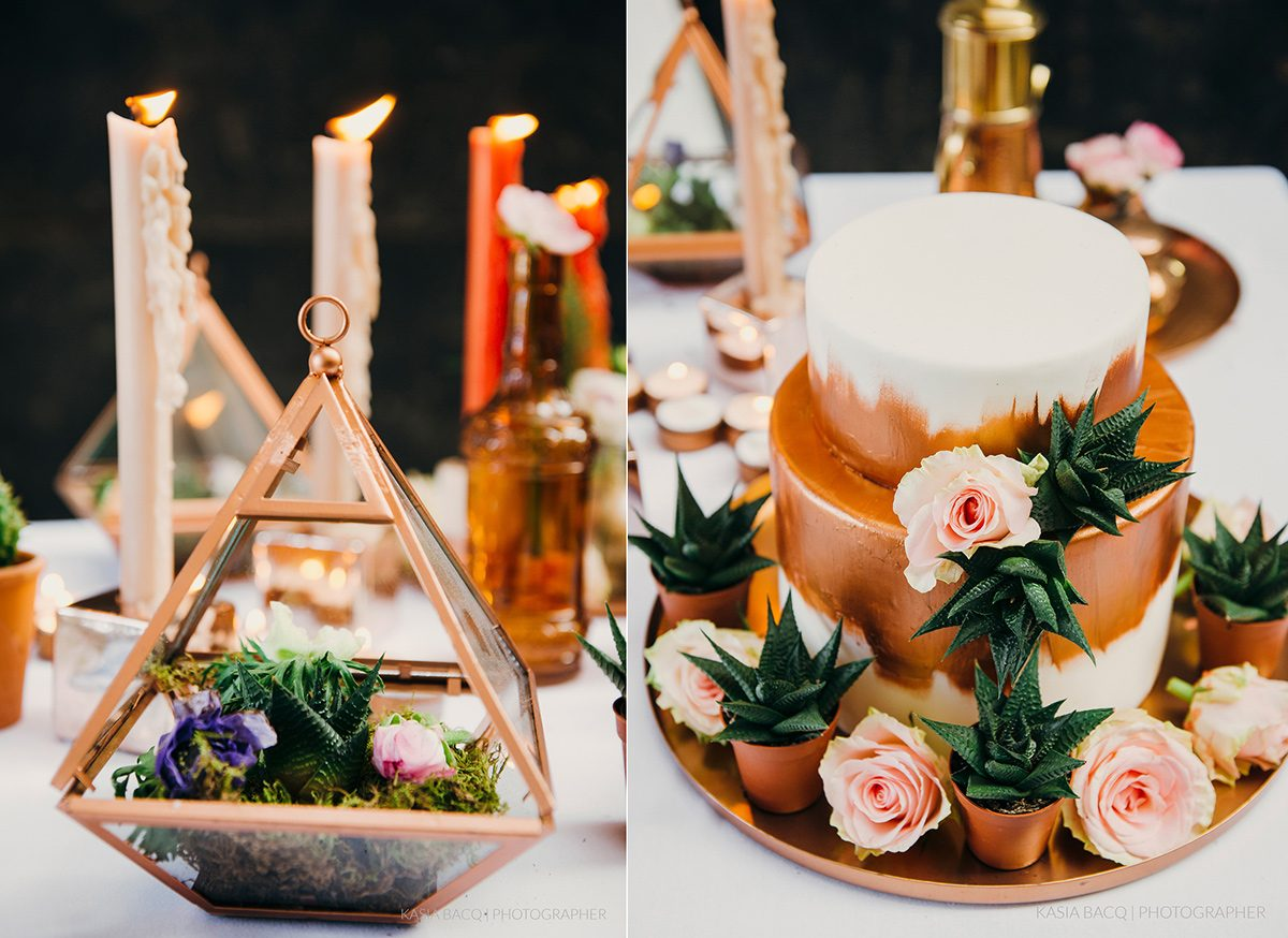 Copper Botanical Urban Wedding Kasia Bacq-57