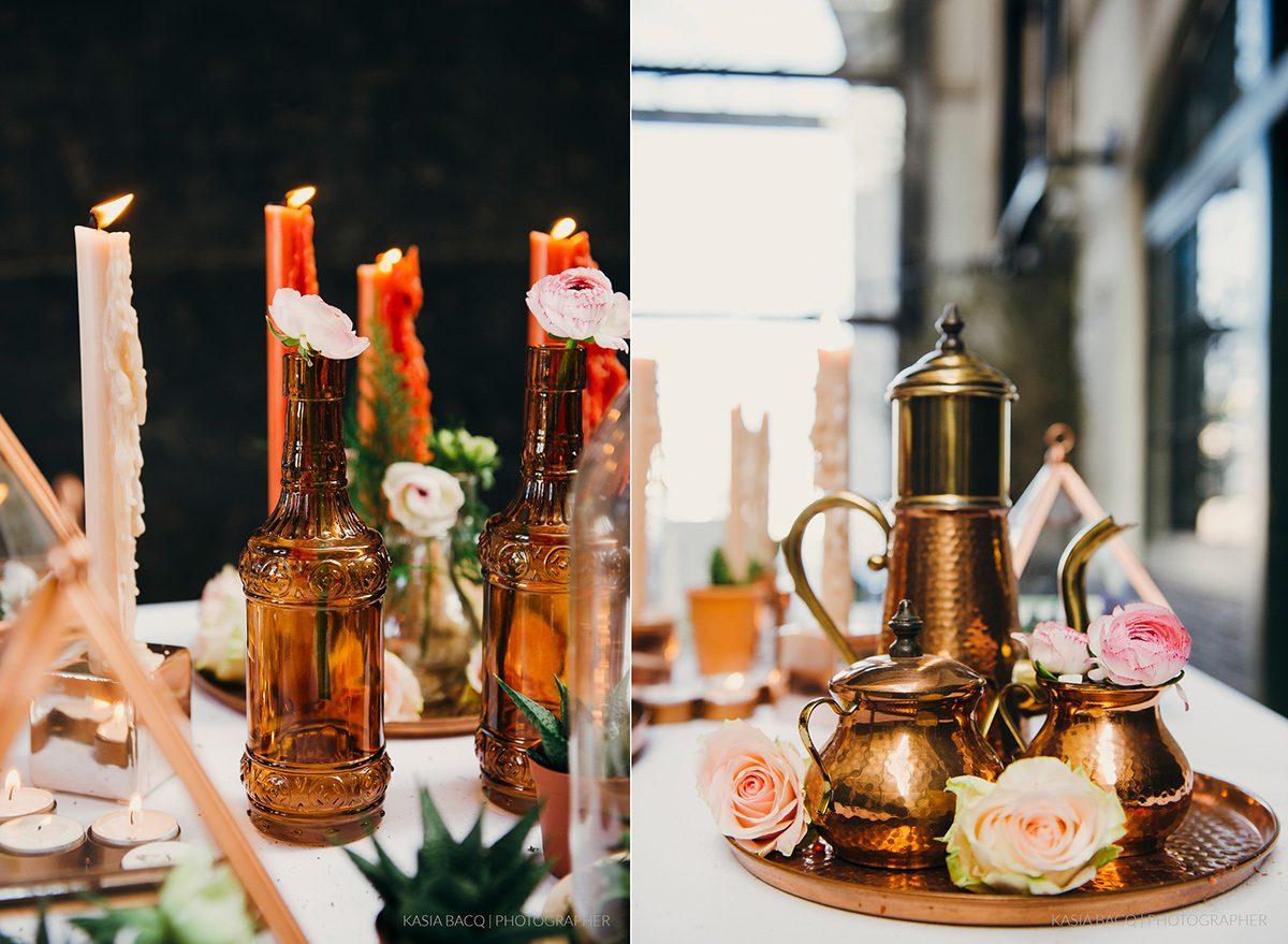 Copper Botanical Urban Wedding Kasia Bacq-62
