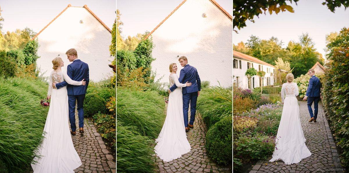 Elke Stijn Chic Wedding Antwerp Slagmolen 093