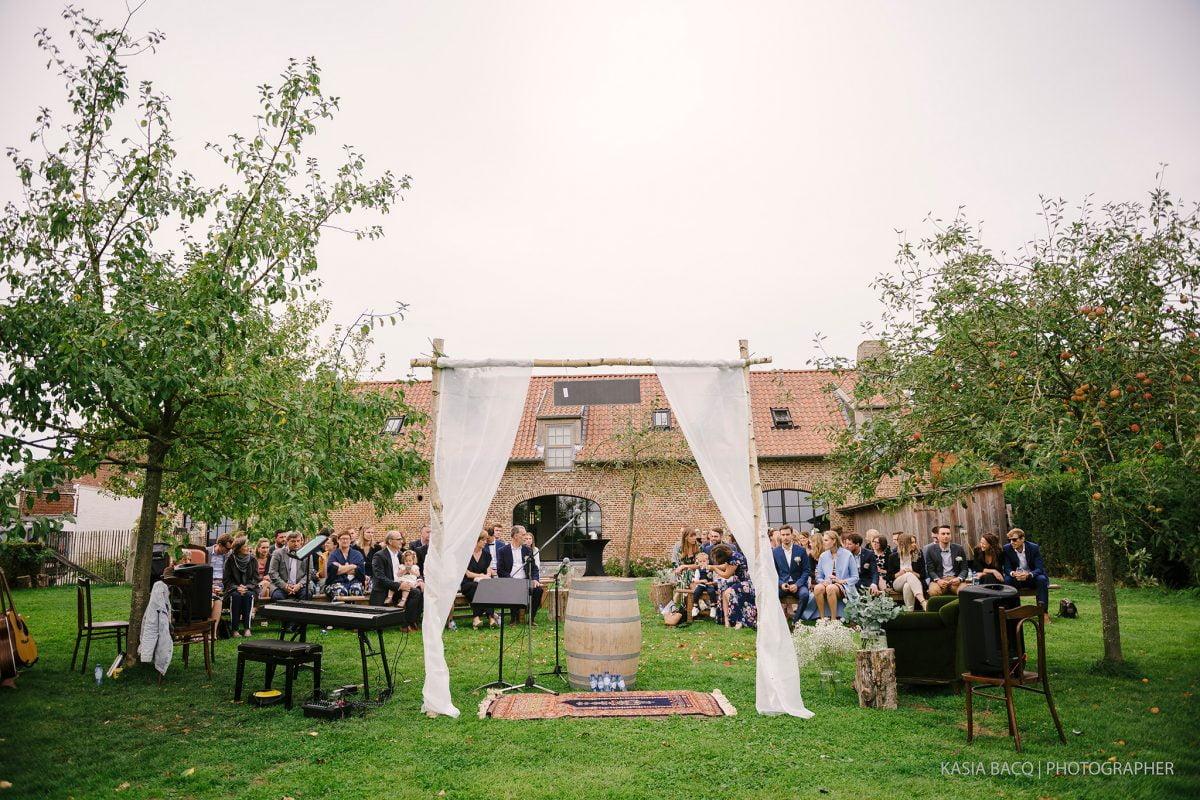 Francesca Matthias Garden Boho Wedding Brussels 038