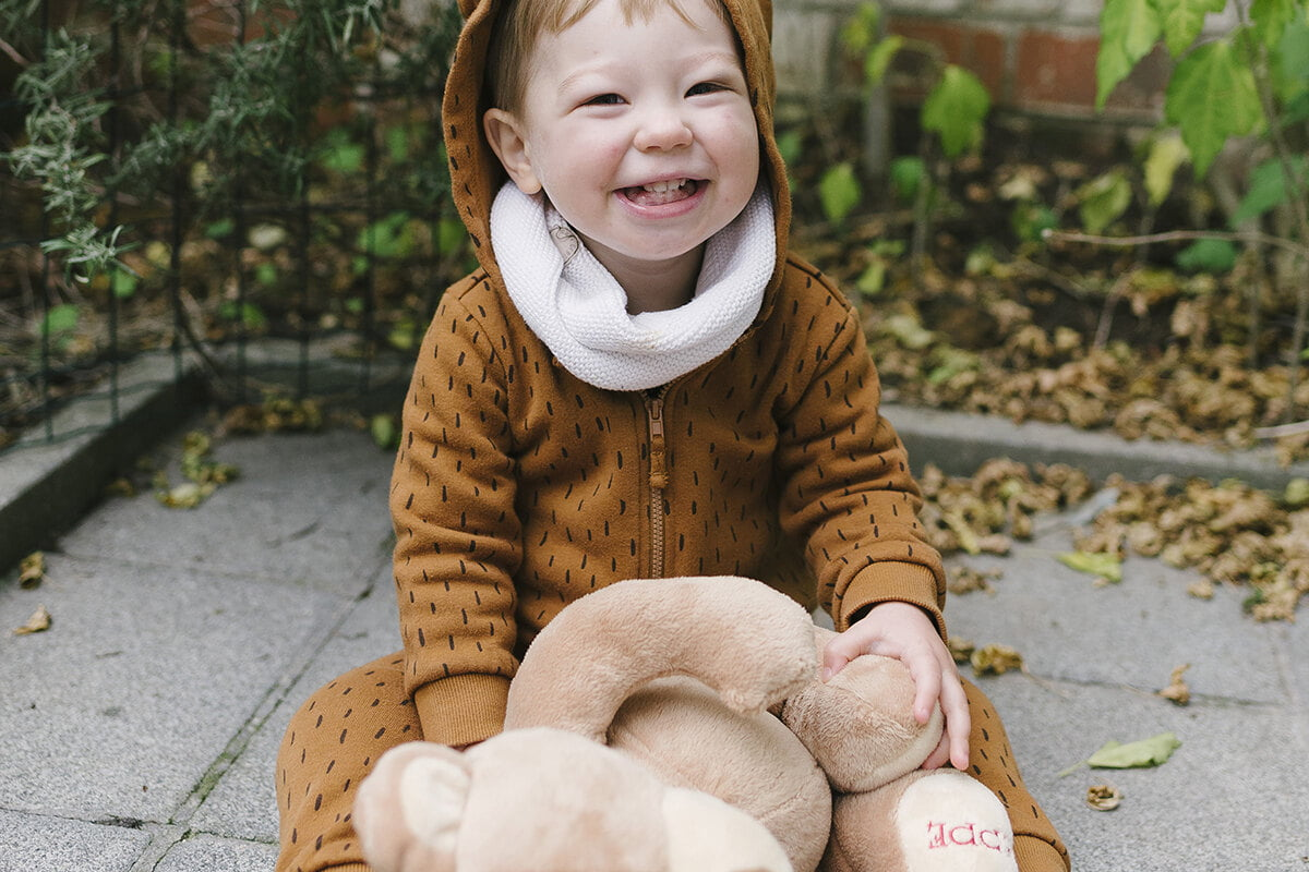 Halloween Bear Costume Toddler Photographer Brussels 001 uai