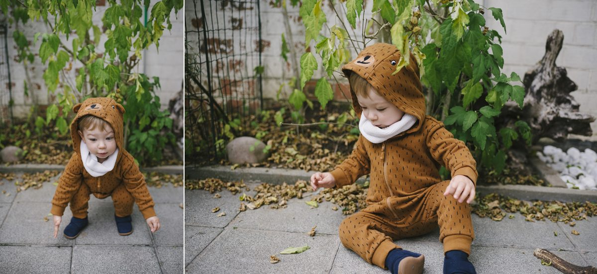 Halloween Bear Costume Toddler Photographer Brussels 002