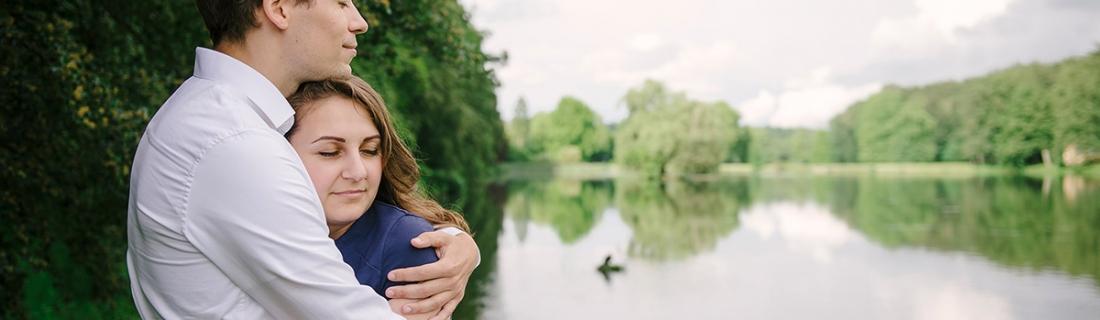 Roxana & Gert – Engagement in Tervuren Park