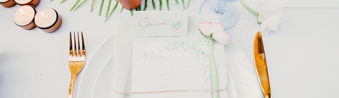 Copper Botanical Urban Inspiration Wedding