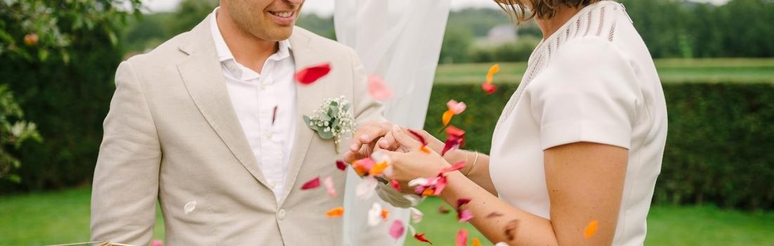 Francesca & Mathias – Orchard Garden Wedding in Brussels