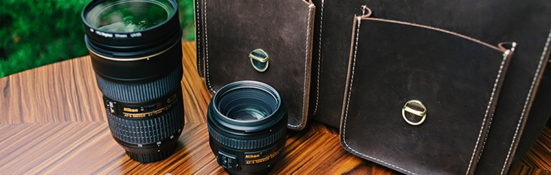New in: photography bag