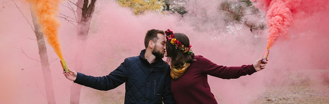 Fall engagement shoot – Kasia & Pawel