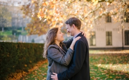 Louise & Brendan – Engagement in Abbaye de la Cambre Brussels