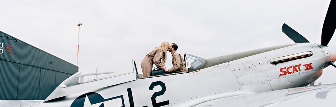 Pilot's birthday gift – Mustang P51 Flight Antwerp