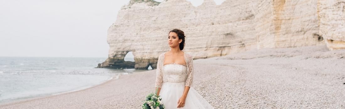 Nautical Inspiration Wedding in Etretat, Normandy